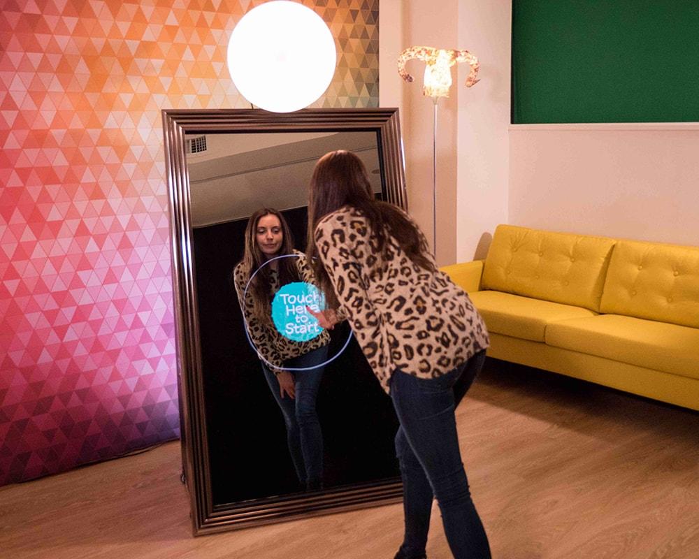 Mirror Photo Booth Hire Sydney